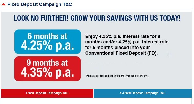 Alliance Bank Fixed Deposit Promotion 6 Months And 9 Months